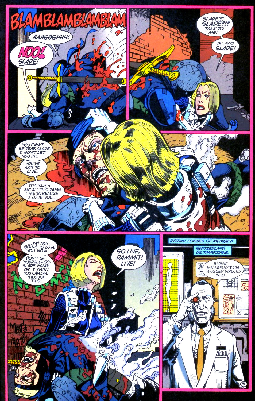 Deathstroke (1991) Issue #59 #64 - English 16