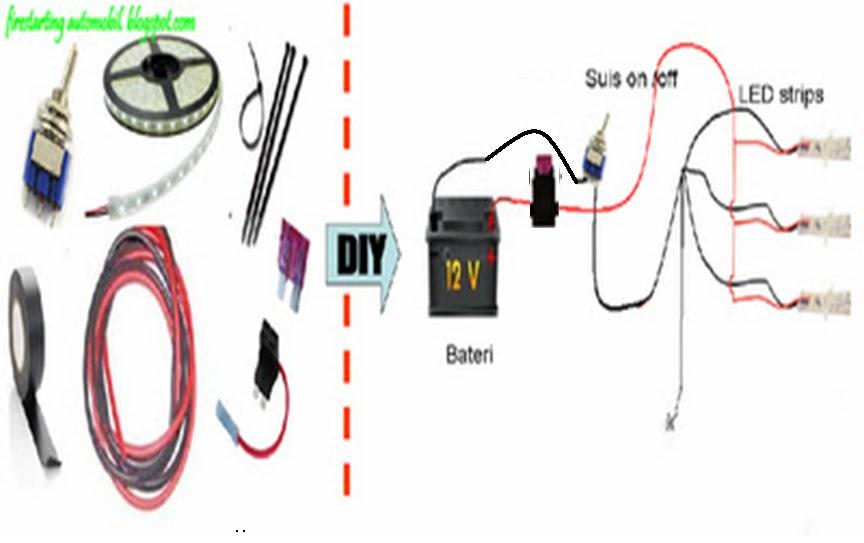 Brilliant Wiring Lampu Led Kereta Basic Electronics Wiring Diagram Wiring Cloud Nuvitbieswglorg