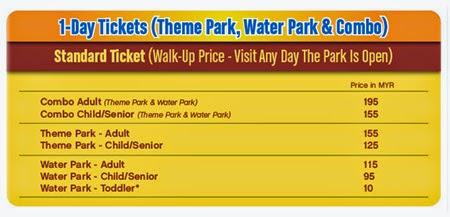 Harga Tiket Legoland Malaysia Theme Park Water Park Hotel