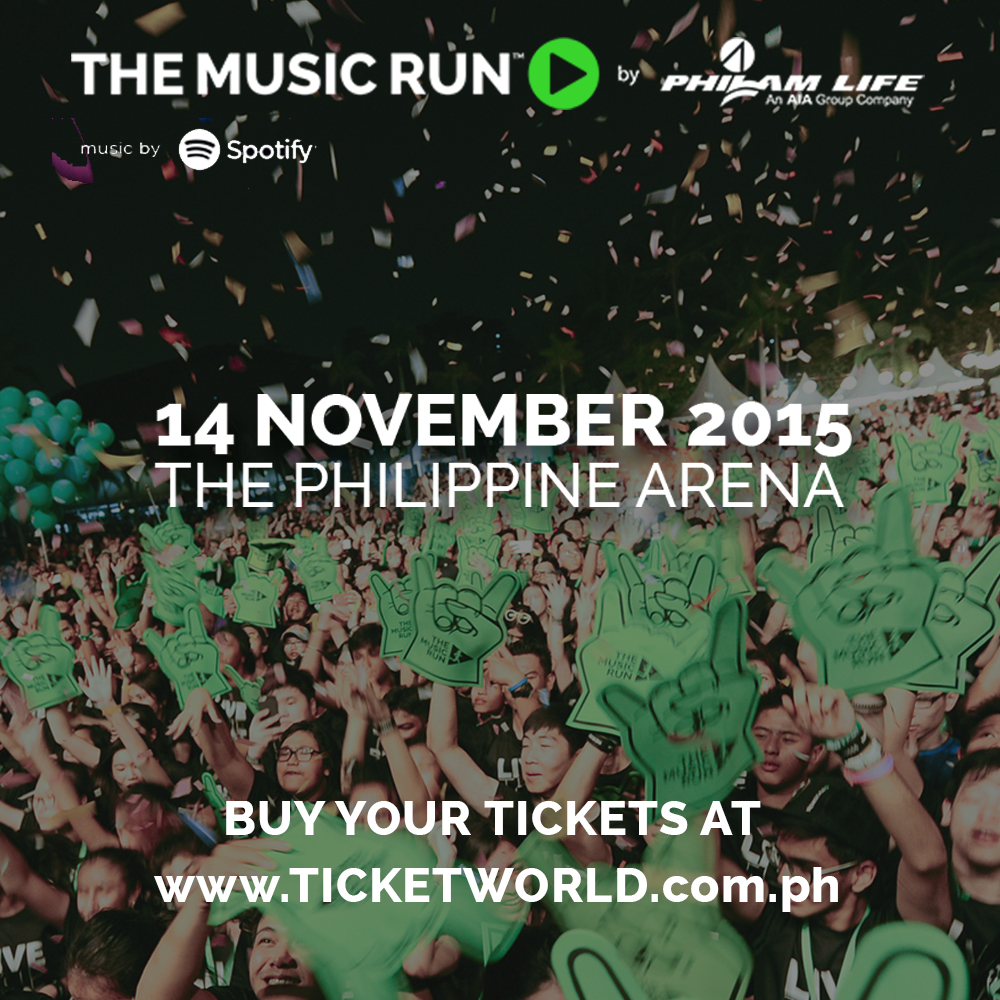 The Music Run by Philam Life is bringing the beat to the Philippines on November 14, 2015 at the Philippine Arena in Bulacan. This is the biggest and the ...