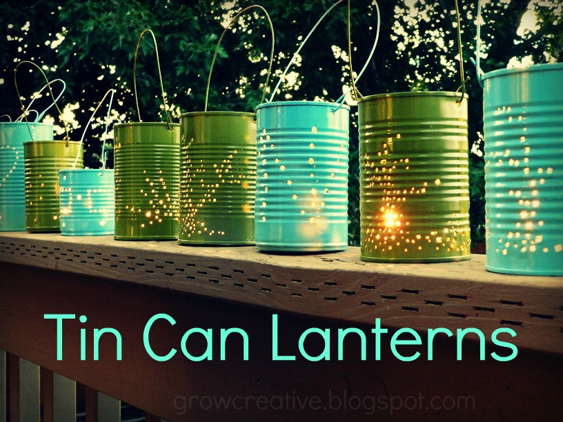 Scattered Thoughts of a Crafty Mom: 17 Outdoor Lighting Ideas for
