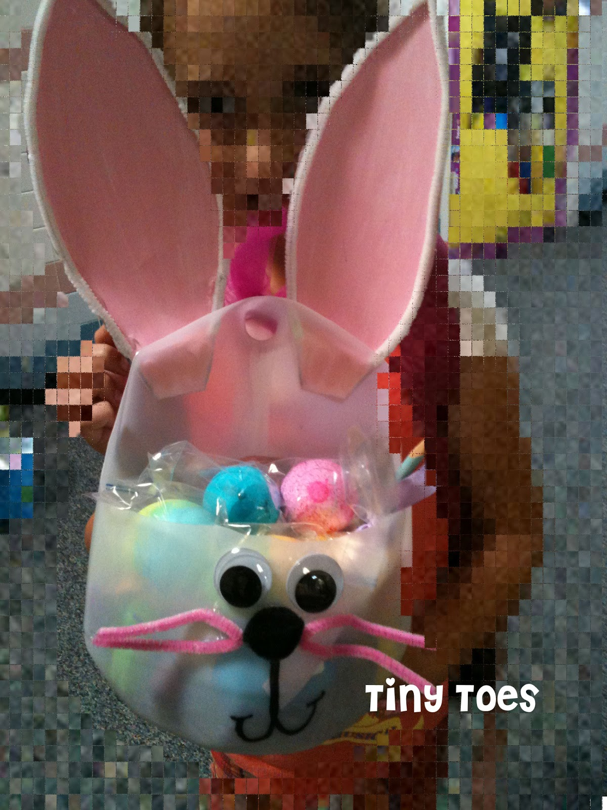 Tiny toes easter baskets for all the kids i love the idea behind these baskets i teach in a title 1 district most are on free or reduced lunches so not everyone can afford the luxury of an easter negle Image collections