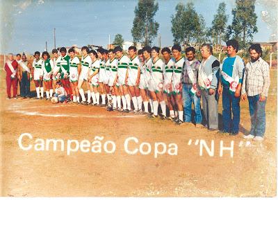 Comemoração dos 27 anos da Conquista Copa NH 'Eugênio Nelson Ritzel'