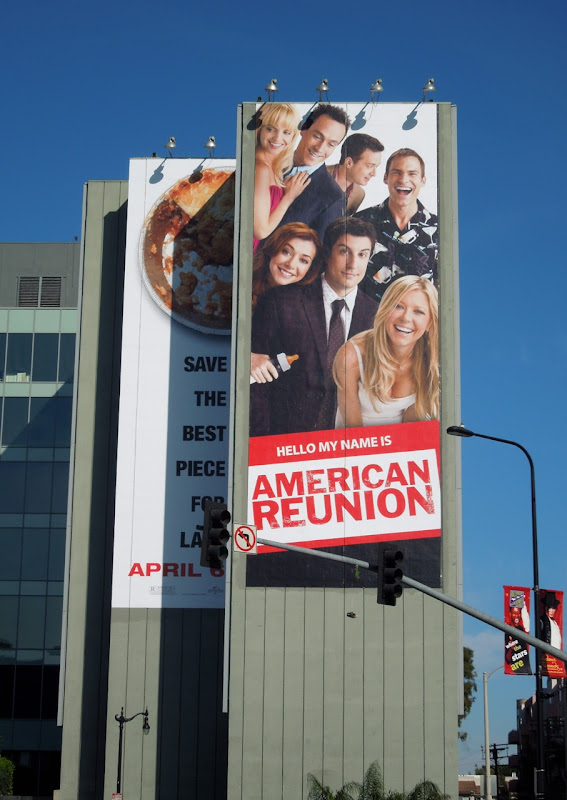 Giant American Reunion billboard
