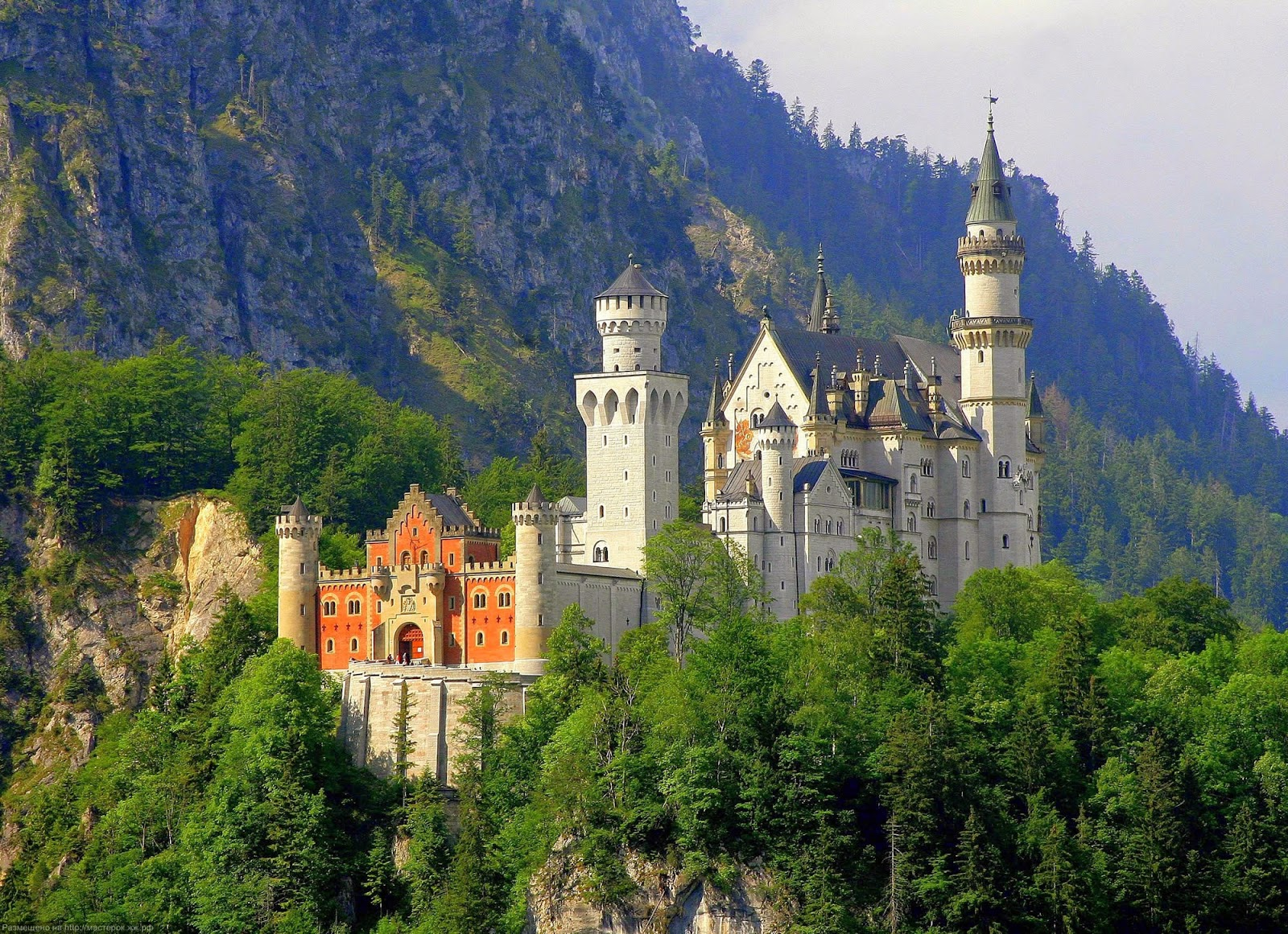 getting to neuschwanstein schloss