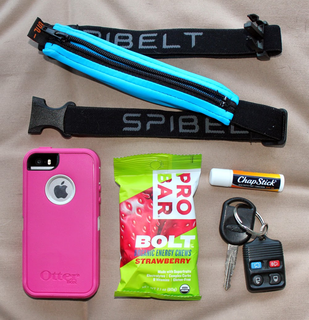 SPIbelt with contents