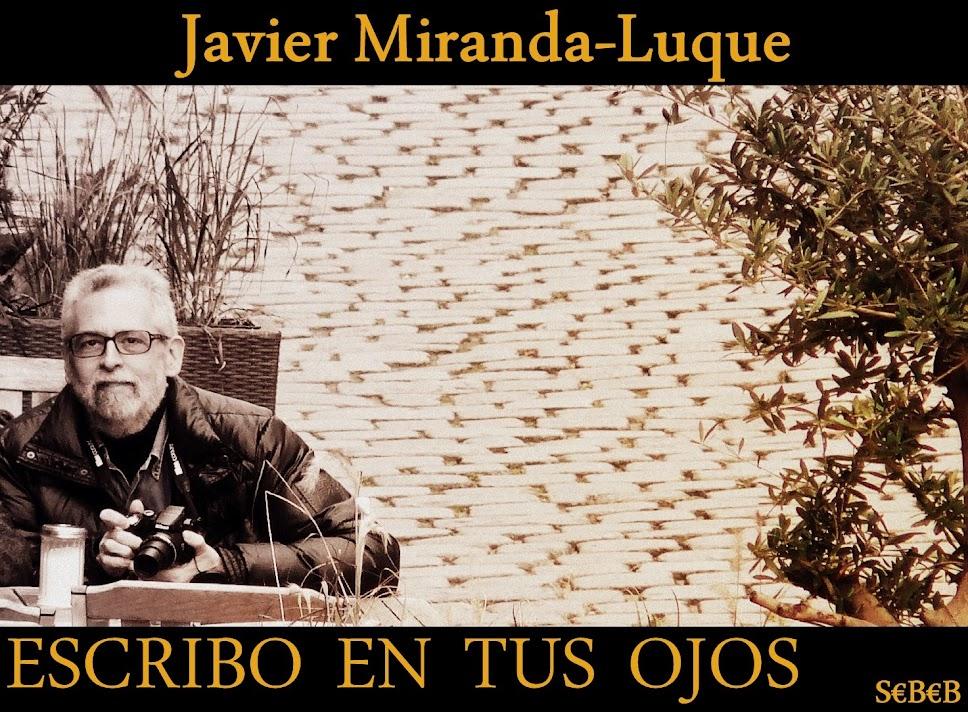 ©Javier Miranda-Luque: escribo en tus ojos