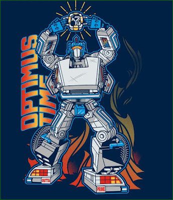 optimus-time-tshirt-design