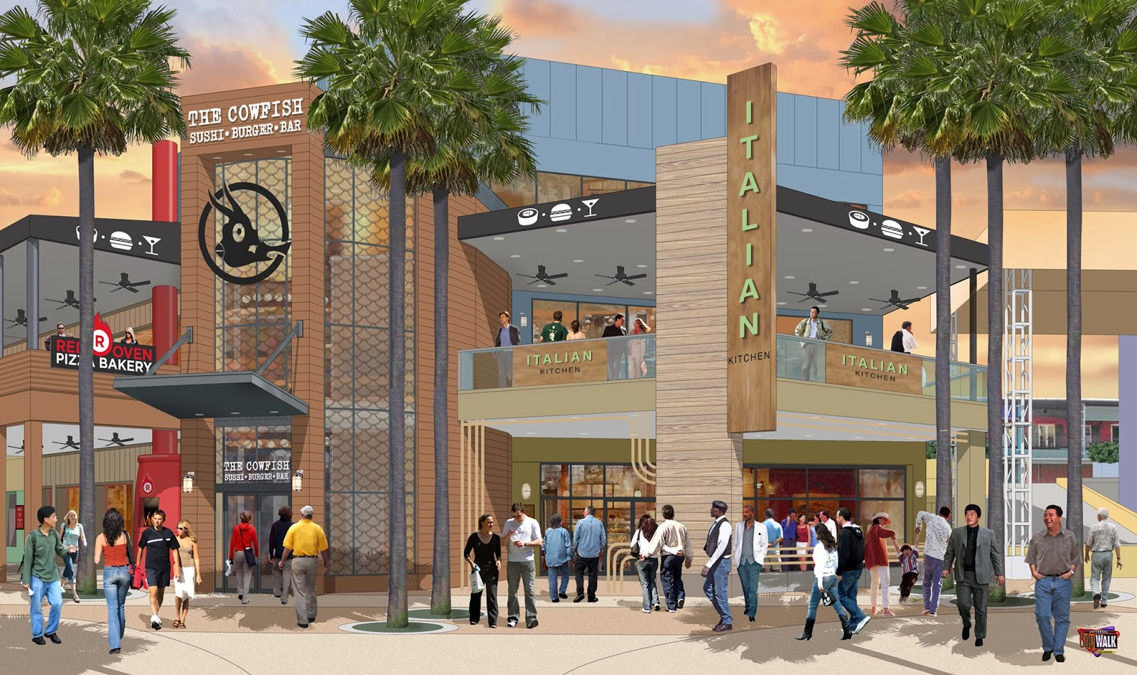 Artist Rendering CityWalk Expansion