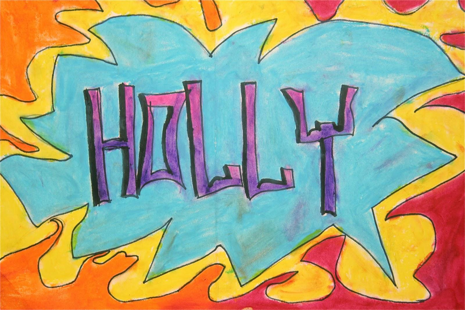 Splish Splash Splatter Graffiti Art