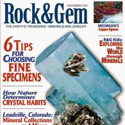 Rock & Gem Noviembre 2011 - libro de minerales pdf