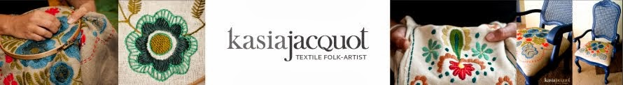 Kasia Jacquot - Textile Folk Artist