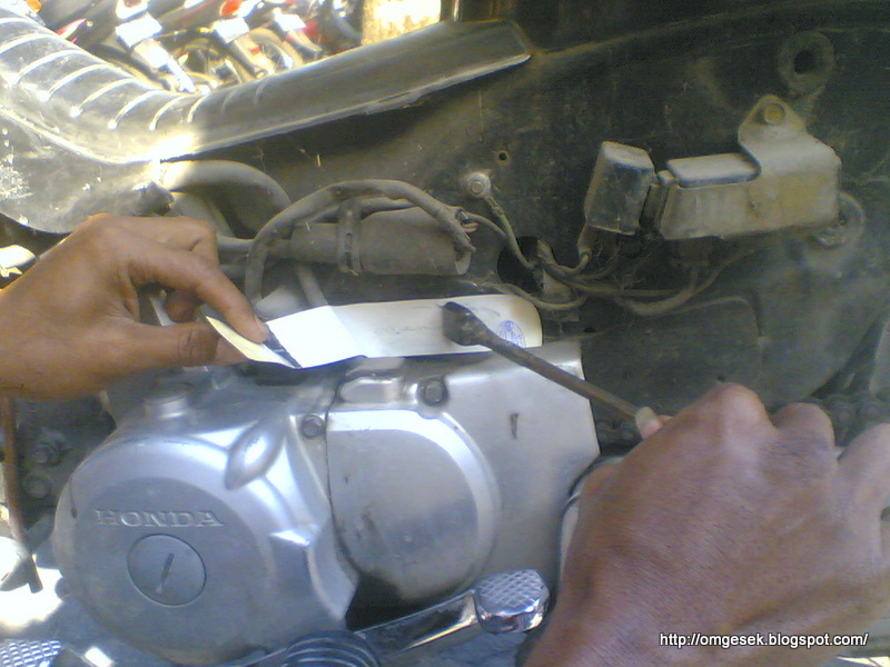 Letak Nomor Rangka Dan Nomor Mesin Motor Honda Legenda