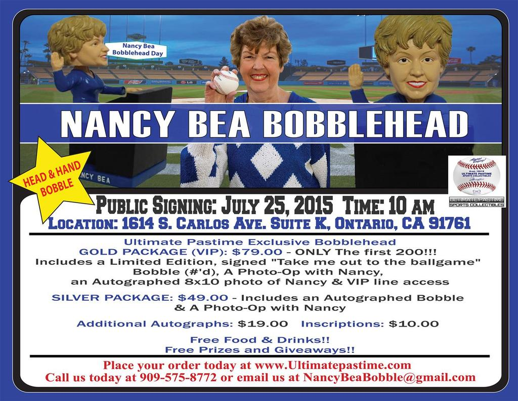 Nancy Bea Bobblehead