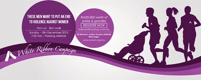 White Ribbon Run & Walk 2013 by AWAM, AWAM, White Ribbon campaign, Run & Walk, run event