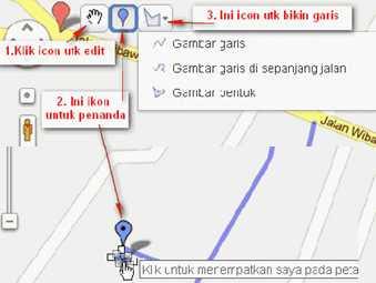 Peta google Maps Bahrul watermarks