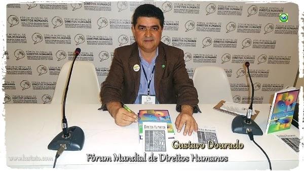 Gustavo Dourado no Fórum Mundial de Direitos Humanos