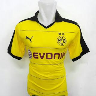 gambar desain terbaru jersey musim depan foto photo kamera Jersey Borrusia Dortmund home terbaru musim 2015/2016 di enkosa sport toko online jersey bola teroercaya lokasi di jakarta pasar tanah abang