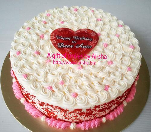 Red Velvet Cake Ai-sha Puchong Jaya