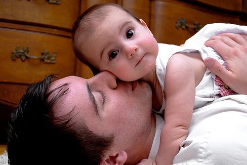 Cute Babies Quotes - cutipedia father and son