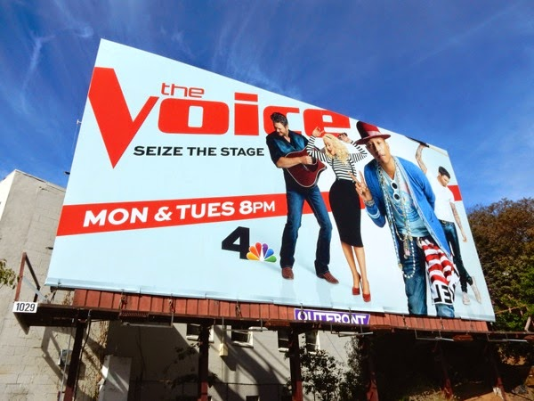 Pharrell The Voice season 8 billboard