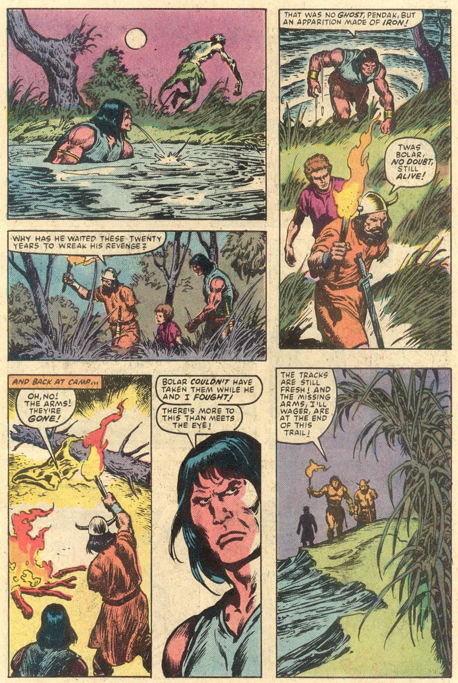 Conan the Barbarian (1970) Issue #149 #161 - English 20