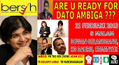 Ceramah Perdana : ARE YOU READY FOR AMBIGA