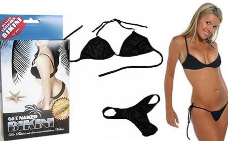 Sexiest and Craziest Bikinis Dissolvable Bikini