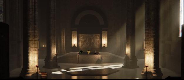Zelda Templo del Tiempo Unreal Engine 4