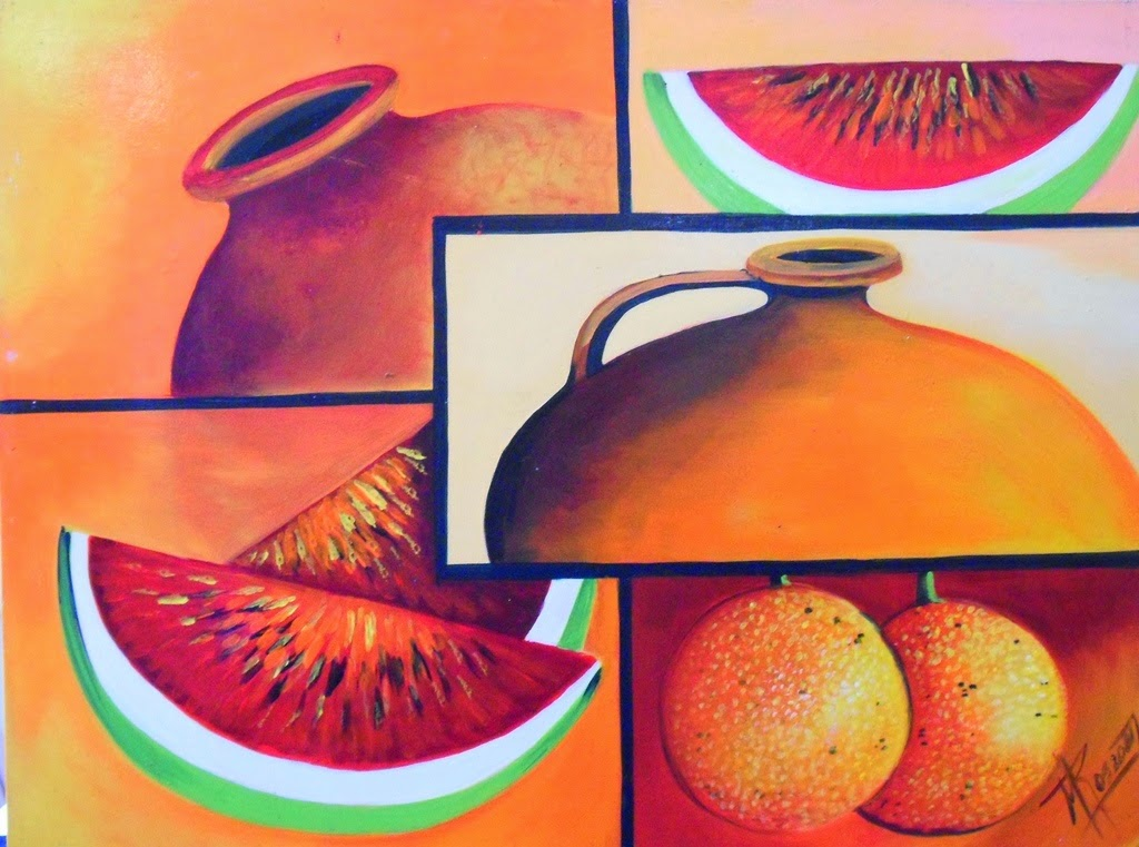 Cuadros modernos pinturas y dibujos dise os de bodegones - Cuadros bodegones modernos ...