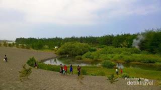 Exotisme Laguna di Pantai Lembu Purwo, Mirit Kebumen