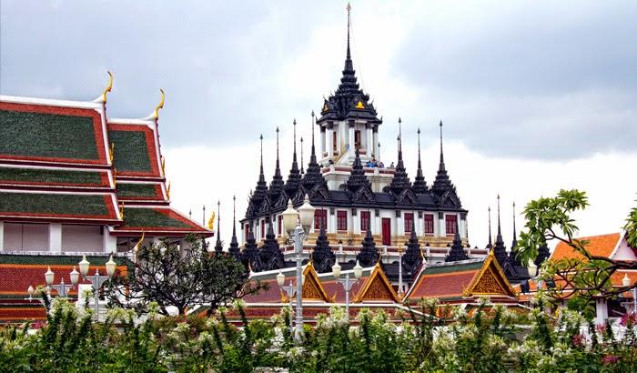 les environs de Khao San Road