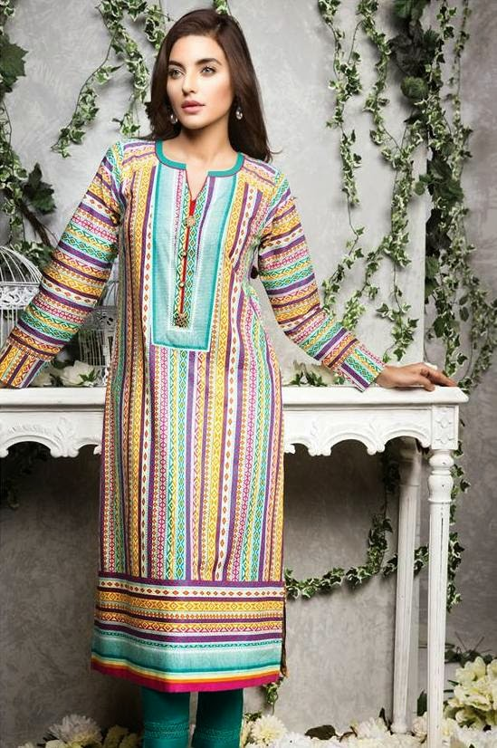 Satrangi casual summer dresses
