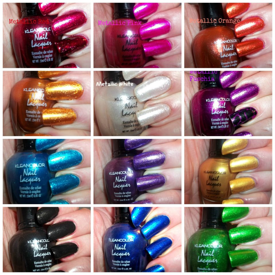 NailsnBling: KleanColor Nail Lacquer Swatches