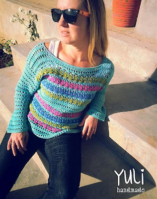 free crochet pattern summer sweater
