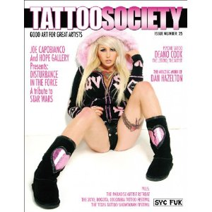 Tattoo Society Magazine Issue Number 25 - Good Art for Great Artists