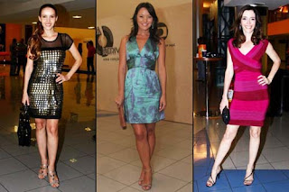 modelos de Vestidos com Decote V