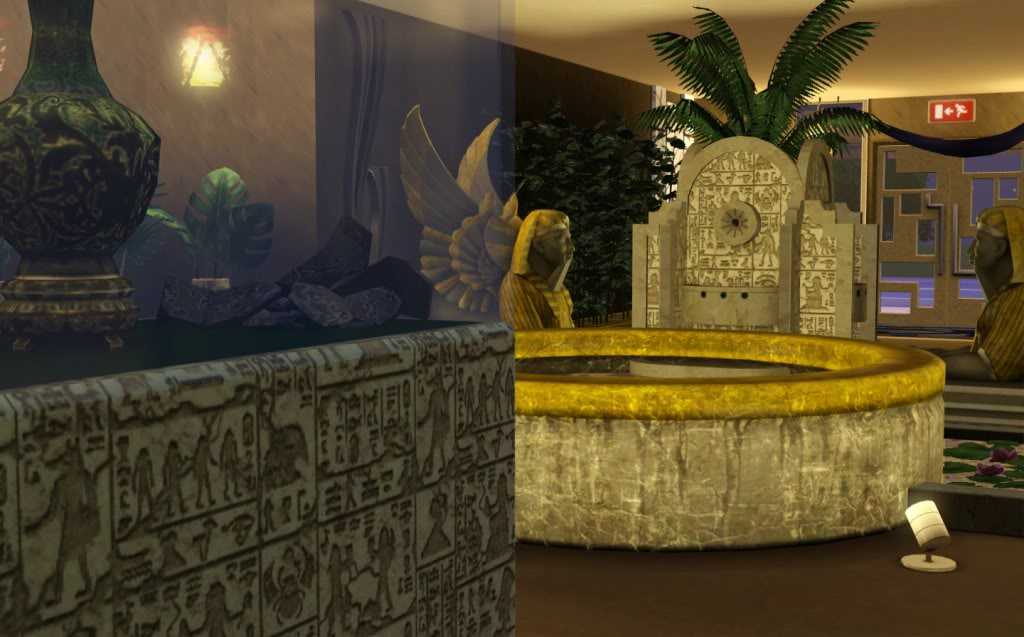 My Sims 3 Blog Egyptian Museum And Decor By Bradtoxicblonde