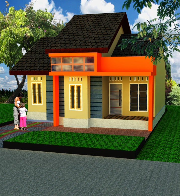 desain rumah minimalis atap sirap griya inspiratif