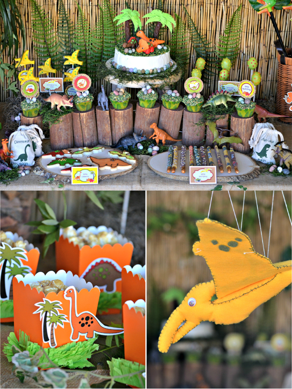 Dinosaur Birthday Party Activities Image Inspiration of Cake and