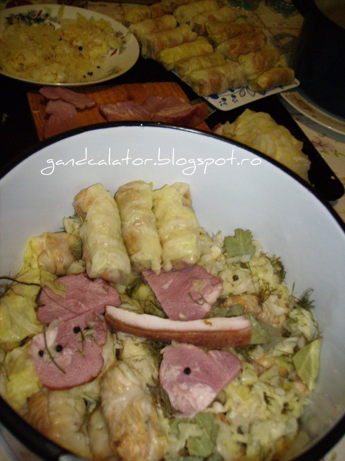 Sarmale Tradiţionale/ Cabbage Rolls filled with pork meat; versiuni reţeta/recipe (ro/eng)