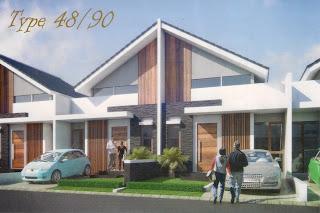 desain denah rumah minimalis 48/90