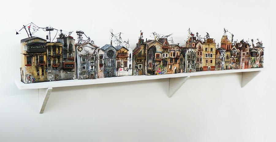 03-Katarina-Pridavkova-Fantasy-Architecture-in-Plaster-and-Clay-Town-www-designstack-co