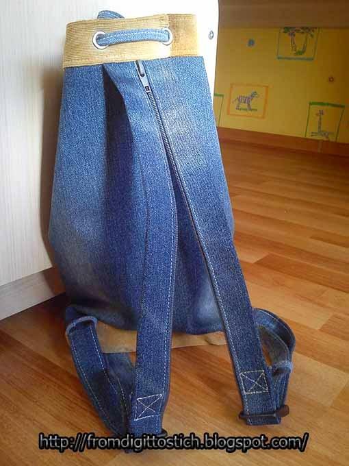 молнии на рюкзаке