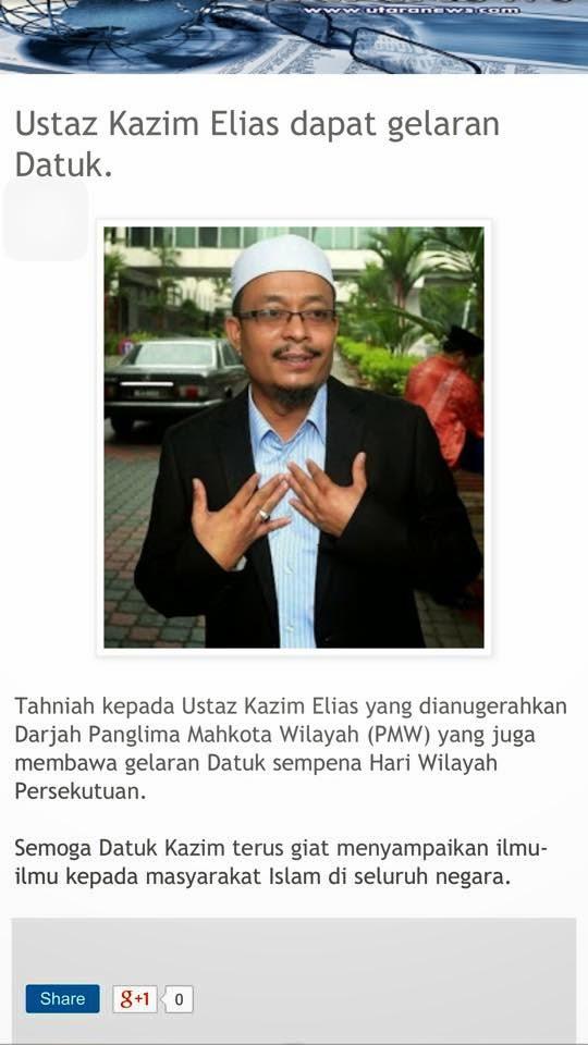 Ustaz Datuk Kazim Elias