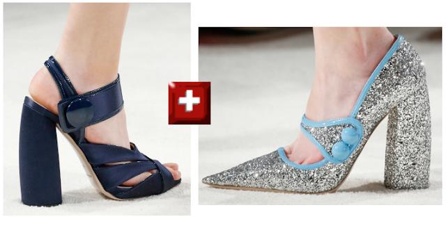 Zapatos Miu Miu Fw 2015-2016 mix clonado por Zara