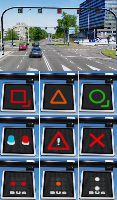 Dynamic LED Traffic Light
