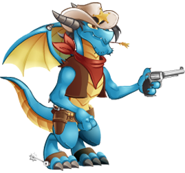 imagen del dragon sheriff de dragon city