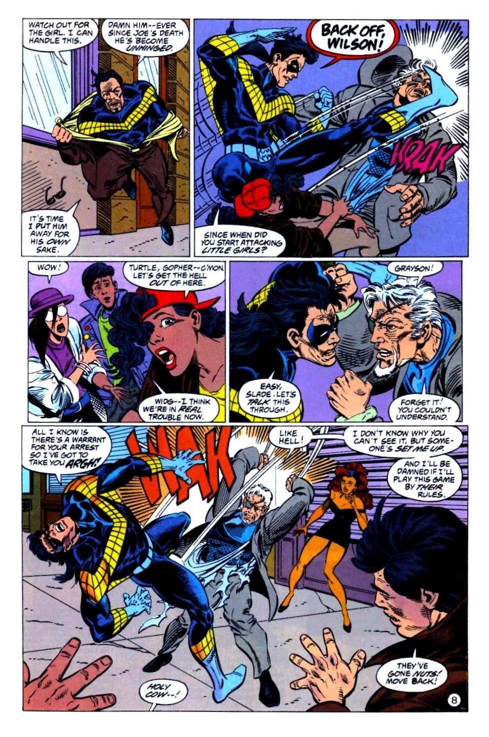 Deathstroke (1991) Issue #14 #19 - English 9
