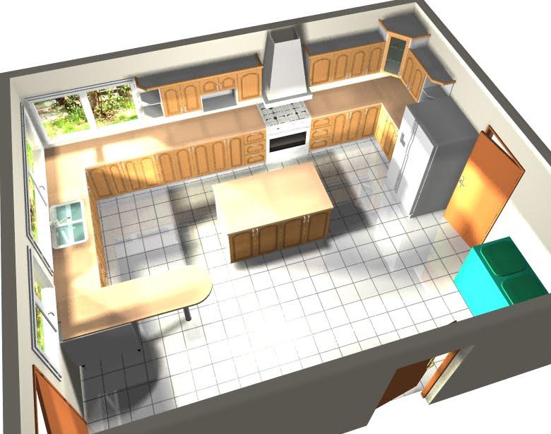 Disear cocina en 3d amazing entraable techo diseos cocina for Ikea diseno cocinas 3d